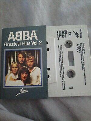Abba - Greatest Hits Vol. 2 - Cassette Tape Album
