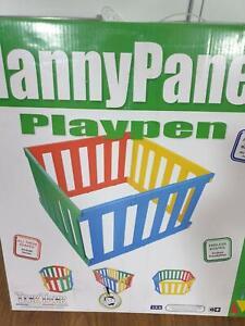 Tikk Tokk Nanny Playpen (sold pending collection)