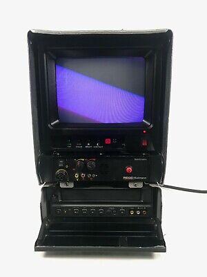 Ridgid Kollmann Seesnake Color Monitor Vcr