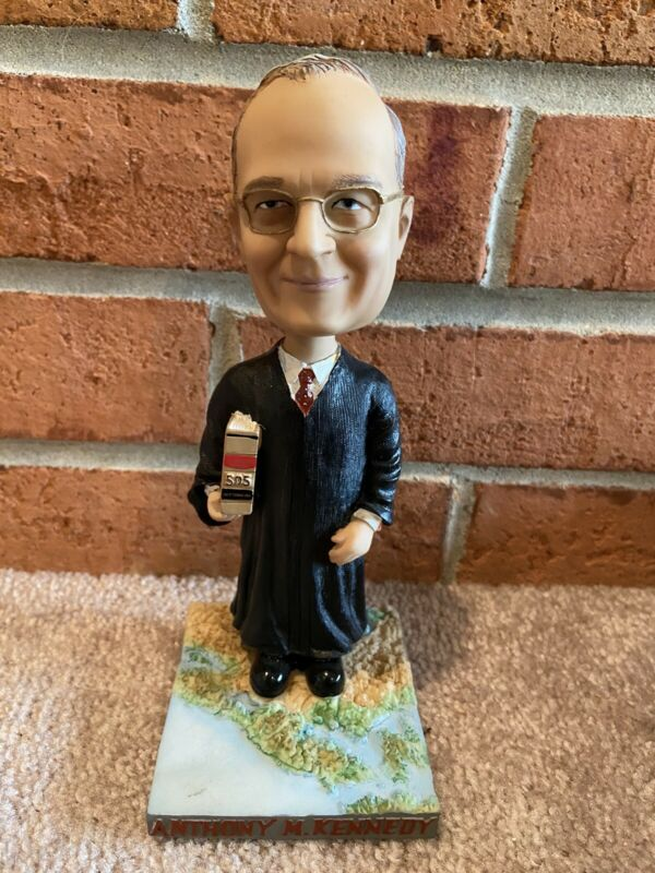 Anthony Kennedy Bobblehead Green Bag Supreme Court Justice - brand new in box
