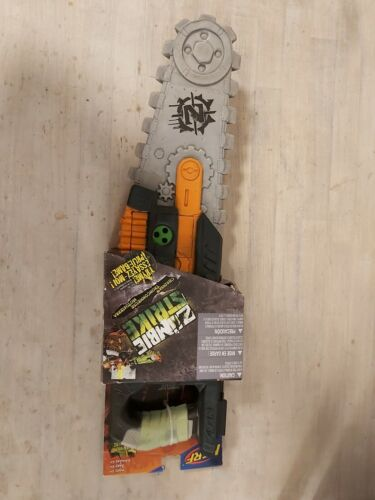 nerf zombie strike chainsaw 2014 RARE unused new condition HASBRO