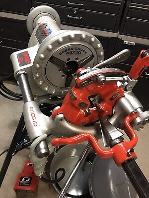 Ridgid 300 Pipe Threader Threading Machine 1224 535 700141greenleerigid