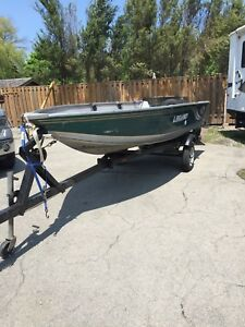 14 foot Legend Deep/Wide Boat and Trailer
