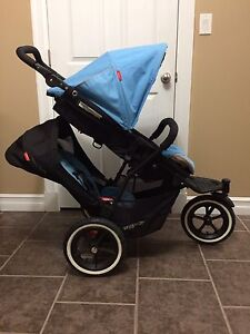 Phil & Teds Navigator Stroller with Doubles Kit