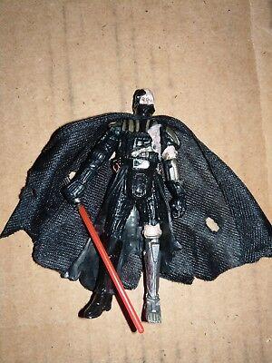 Star Wars The Force Unleashed Battle Damaged Darth Vader Action Figure 2008