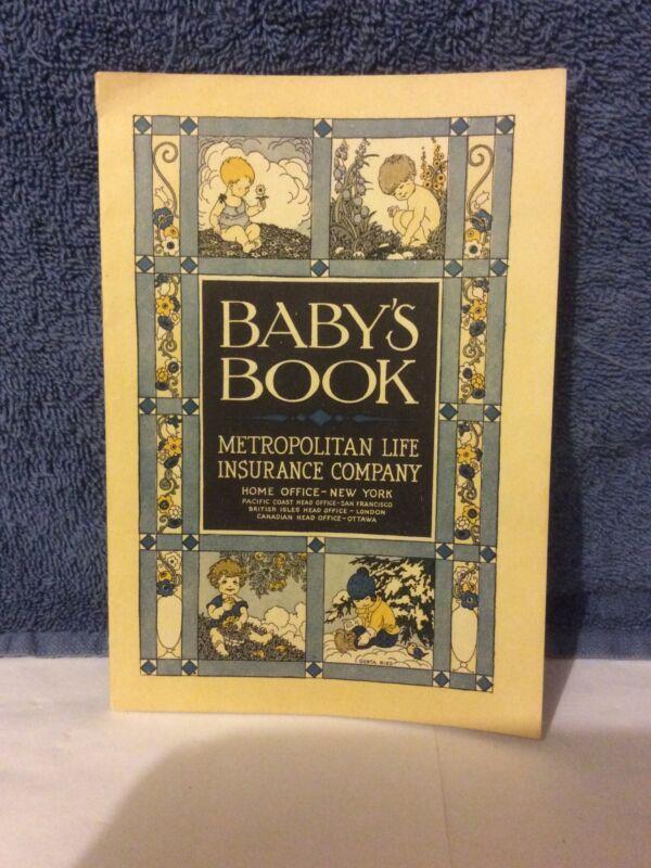 Vintage Baby Book by Metropolitan Life Insurane Co.