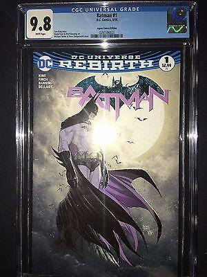 Batman #1 CGC 9.8 - Michael Turner Aspen Variant Cover - Rebirth - 2016