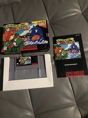 Super Mario World 2 Yoshi's Island SNES Excellent Complete
