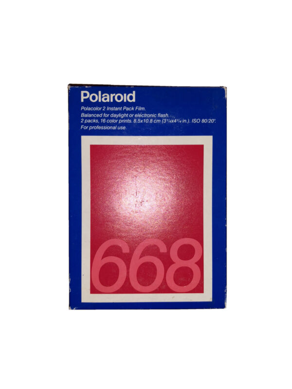 Polaroid 668 Instant Pack Film 16 Photos Cold Stored (1 Pack)