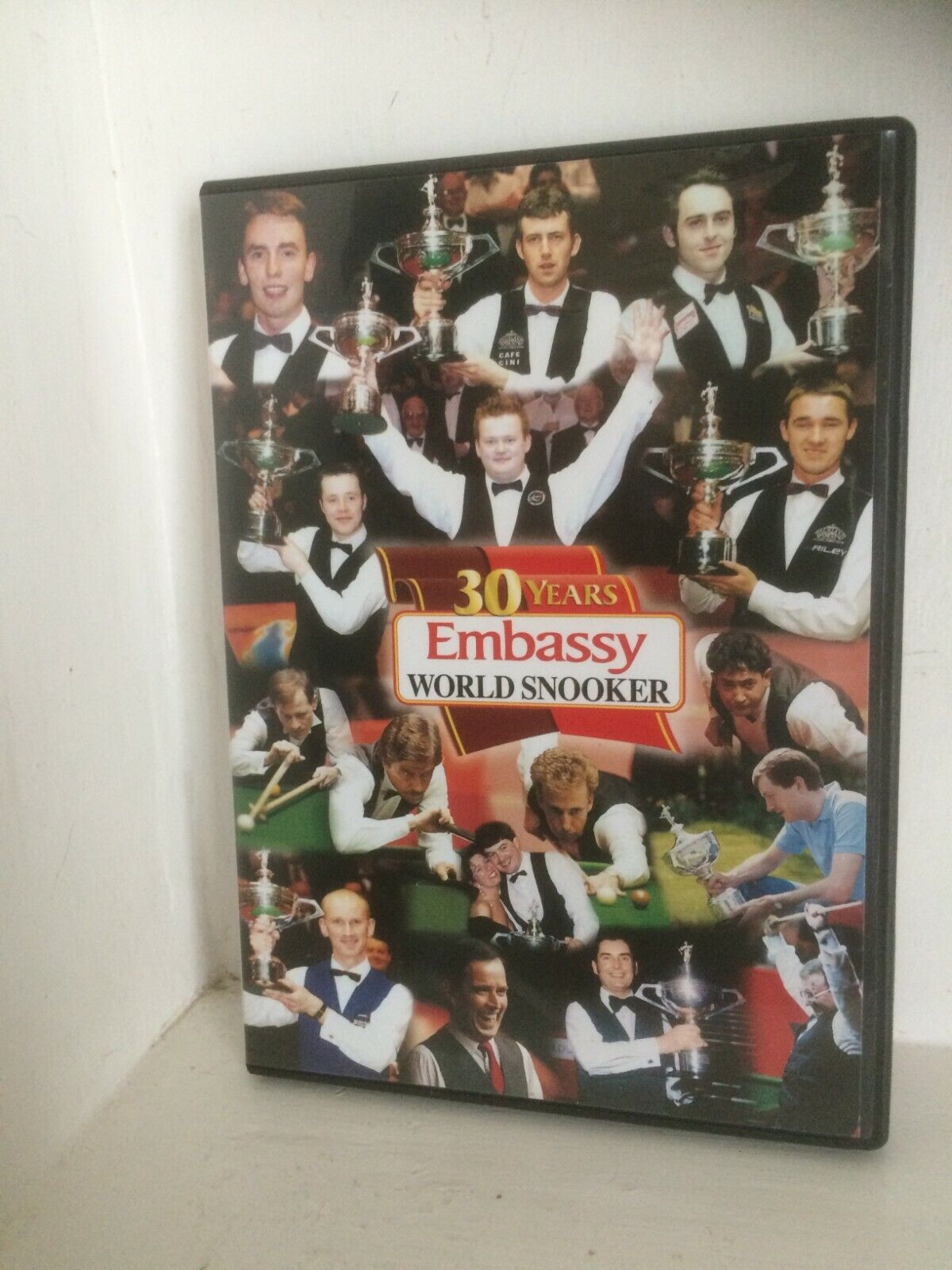 EMBASSY 30 YEARS OF WORLD SNOOKER 1976 TO 2005  DVD