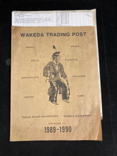 WAKEDA TRADING POST CATALOG 11, 1989-1990, & WHOLESALE PRICE LIST