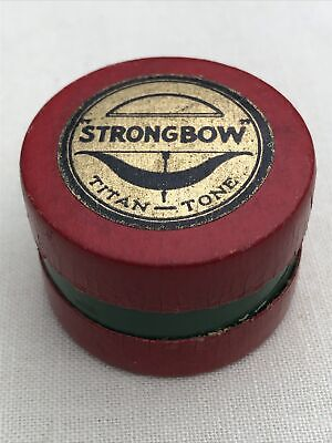 Rare Vintage Strongbow Strong Bow Titan-Tone Violin Viola Rosin Barely Used !!