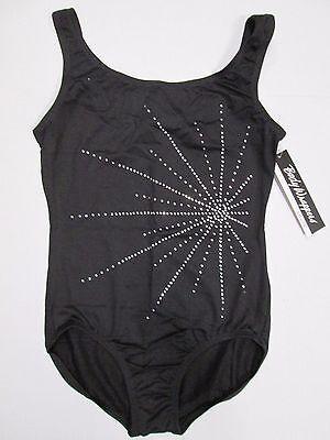 NEW Capezio 11280W Lace Back High Neck Leotard MDO Women sizes Reg $46