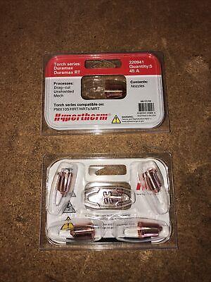 10 Hypertherm Genuine Powermax 65 85 45 Amp Nozzles 220941