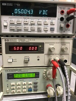 Hp Agilent E3614a 8v 6a 100-240v Dc Power Supply Used Tested Ships Free