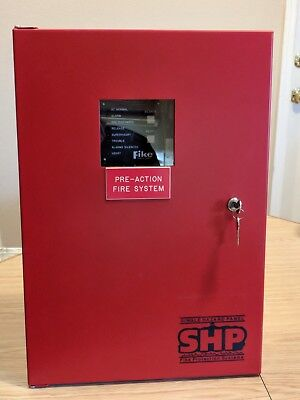 Fike Fire Shp Protection 10-051-r-1 Red Encl 10-2171 Single Hazard Panel