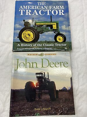 2 Farm Tractor Books, John Deere, The American Farm Tractor