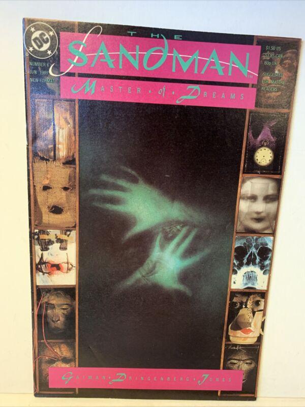 Sandman #6 (DC June 1989) First Printing Neil Gaiman