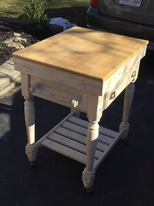 Kitchen/butcher cart
