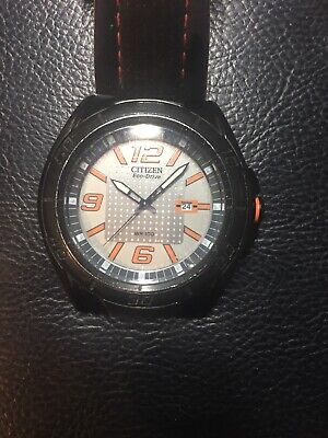citizen eco drive J810-S091195 mens watch pre owned