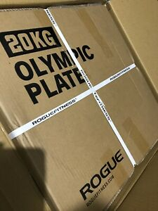 Rogue cast iron olympic plates 2x20 kgs
