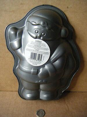 "Non stick ""SANTA BAKING TIN"". Carbon Steel / Dishwasher safe. New item."