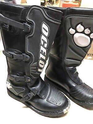 Ocelot Motocross Boots Woman Size 9 Dirt Bike ATV Off Road Womens Motocross Boots