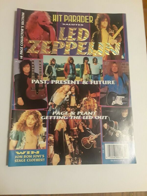 Hit Parader February 1995 Led Zeppelin Special Issue Rare