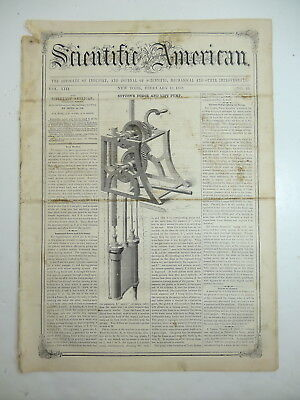 AUTOMATIC FIELD GATE, Forge Lift Pump, African Discoveries, Antique Article 1858