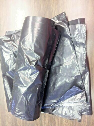 "(20 BAGS) 45 GALLON EXTRA HEAVY BLACK TRASH BAG ON ROLL 43"" x 47"" 1.5MIL/US MADE"