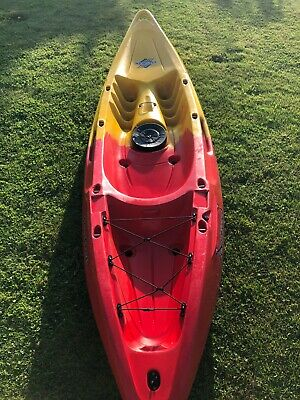Nomad Feelfree Sit On Single Seat Kayak Red/Yellow Colour