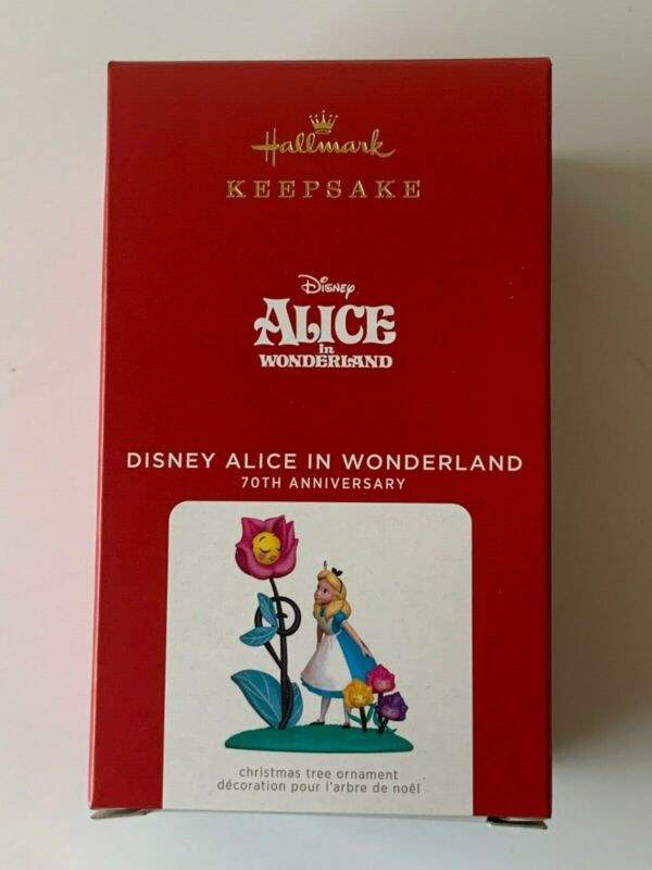 2021 Hallmark Keepsake Ornaments Disney Alice in Wonderland (70th Anniversary)