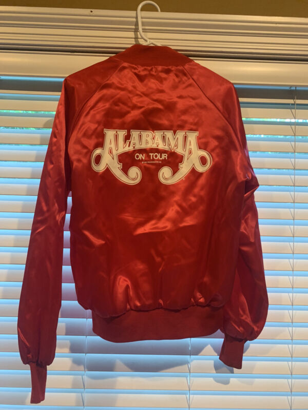 Original 1983 Alabama USA Tour Zipper Jacket