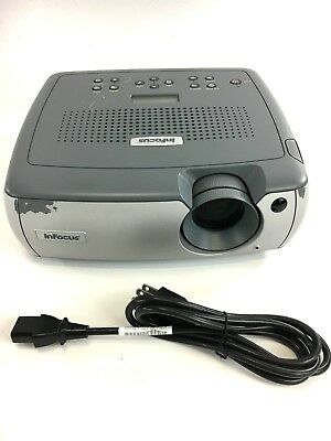 InFocus LP640 LCD Projector Stereo (563 Lamp Hrs)