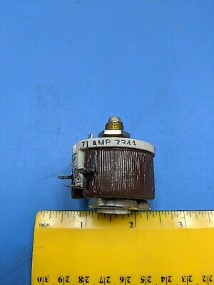 Potentiometer 50 Ohm Wirewound 71 Amp 300v Memcor 1 Unit