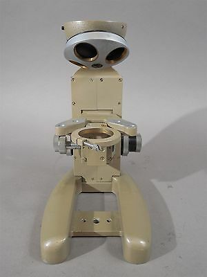 Vickers Instruments Model M142 Microscope Frame Only No Head Look To Understand