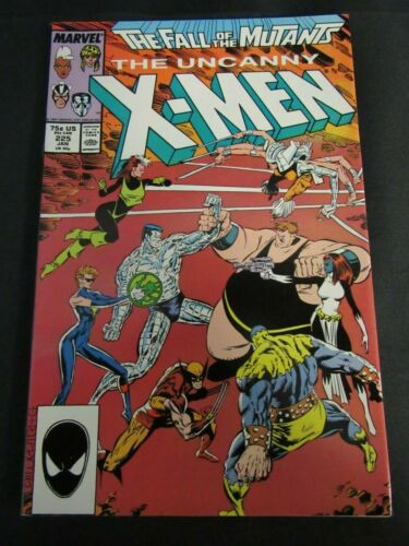Uncanny X-Men #225 (1988) Copper Age NM 9.2-9.4 K915
