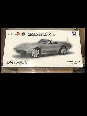 1969 Corvette  GRAY 1:18 Auto Art 71162