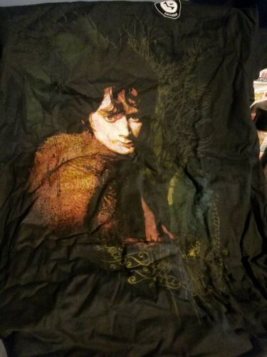 Lord of the Rings Frodo Baggins Secrets Shirt Loot Crate Large NEW Hobbit