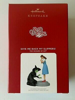 2021 Hallmark Keepsake Ornaments Give Me Back My Slippers (The Wizard Of OZ)