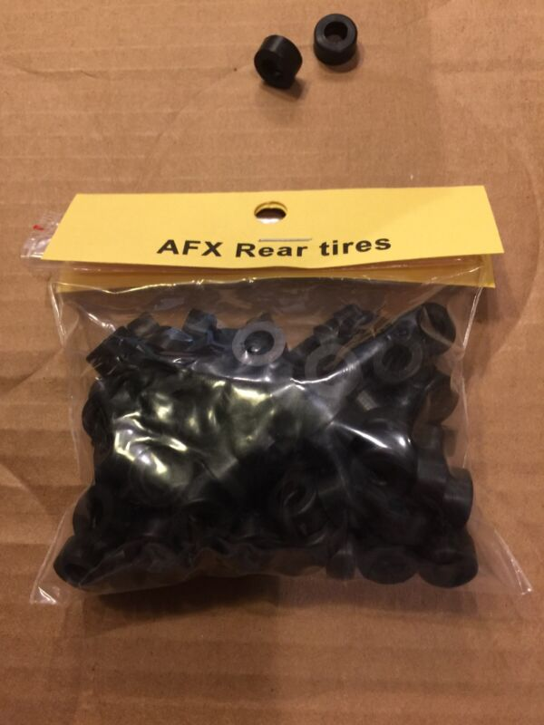 Compatible with Aurora slot car AFX REAR silicone compound tires 100 bag