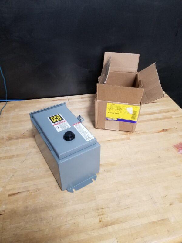 Magnetic Motor Starter SQUARE SQUARE D 8536SBA2V02S Schneider Electric Enclosed