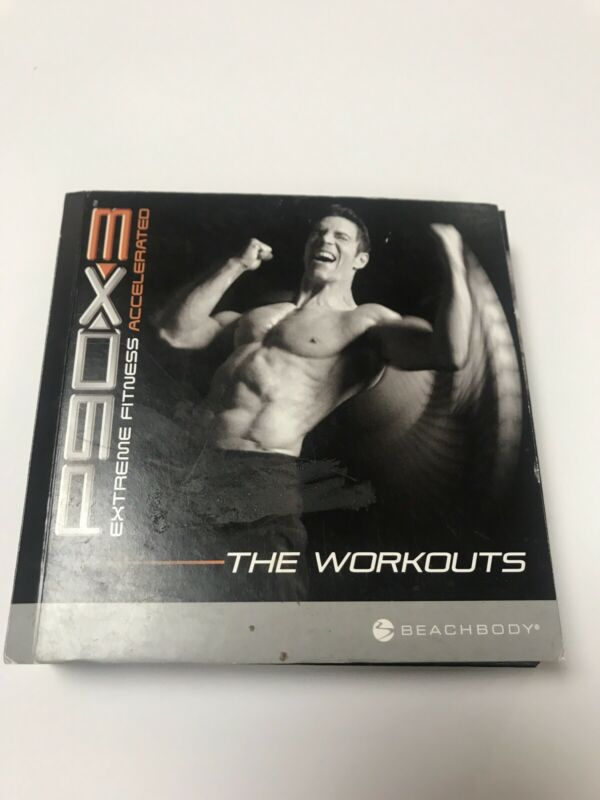 Beachbody P90X3 Extreme Fitness Accelerated The Workouts 9 DVD Set