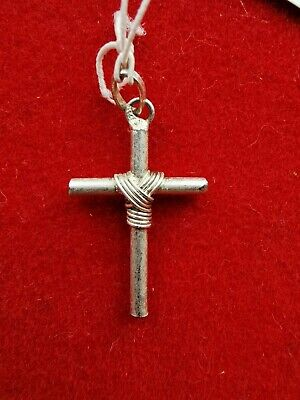 Pendant Religious Cross Solid Silver - REF28152