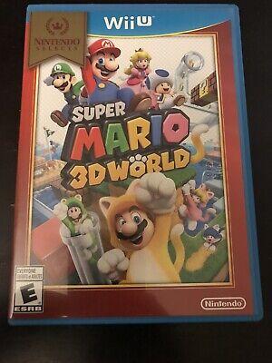 Super Mario 3D World (Nintendo Wii U, 2013) | Complete