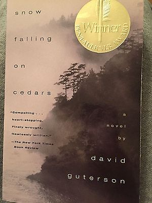 Snow Falling On Cedars By David Guterson Brand New Paperback Book
