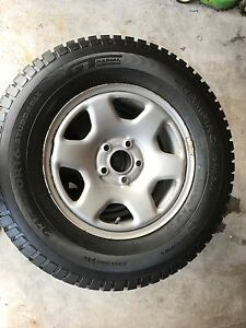 "GT Radial Winter tires 235/70R16 + Ford 16"" OEM steel rims"