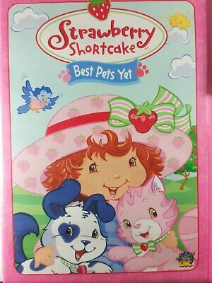 Strawberry Shortcake - Best Pets Yet (DVD,