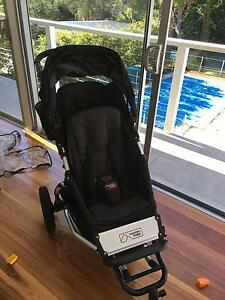 Double/single pram - Mountain Buggy Plus One North Turramurra Ku-ring-gai Area Preview