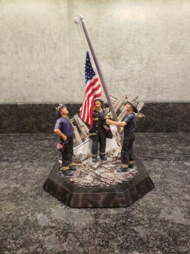 *NEW* Danbury mint Raising the flag